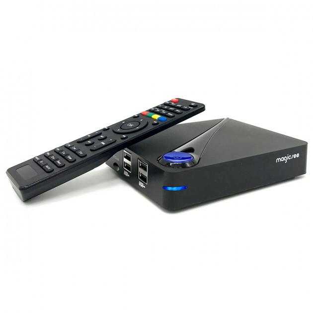 Гибридный Android Smart TV Box Magicsee C300 с тюнерами DVB-T2 DVB-C DVB S2