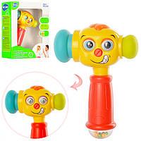 Детская музыкальная игрушка Молоточек 3115