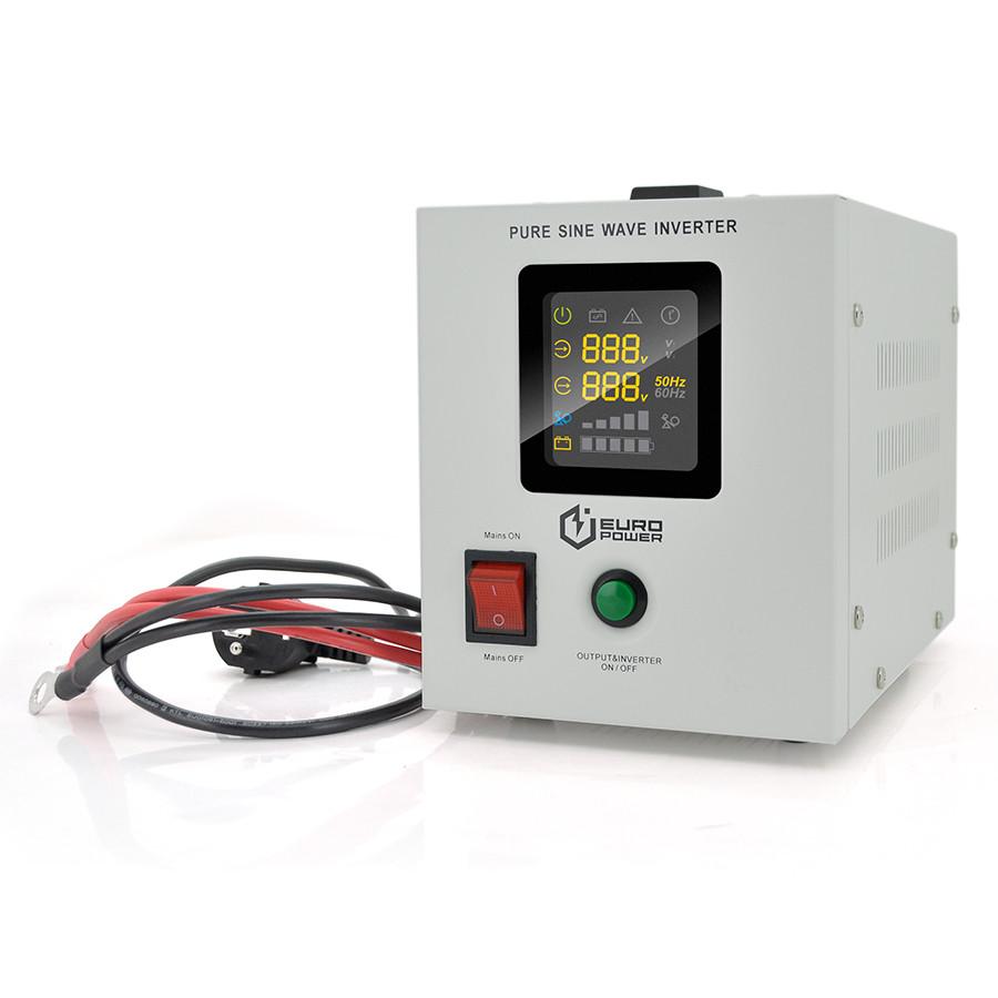 ИБП Europower PSW-EPW500TW12 (300 Вт) 5/10А с правильной синусоидой 12В