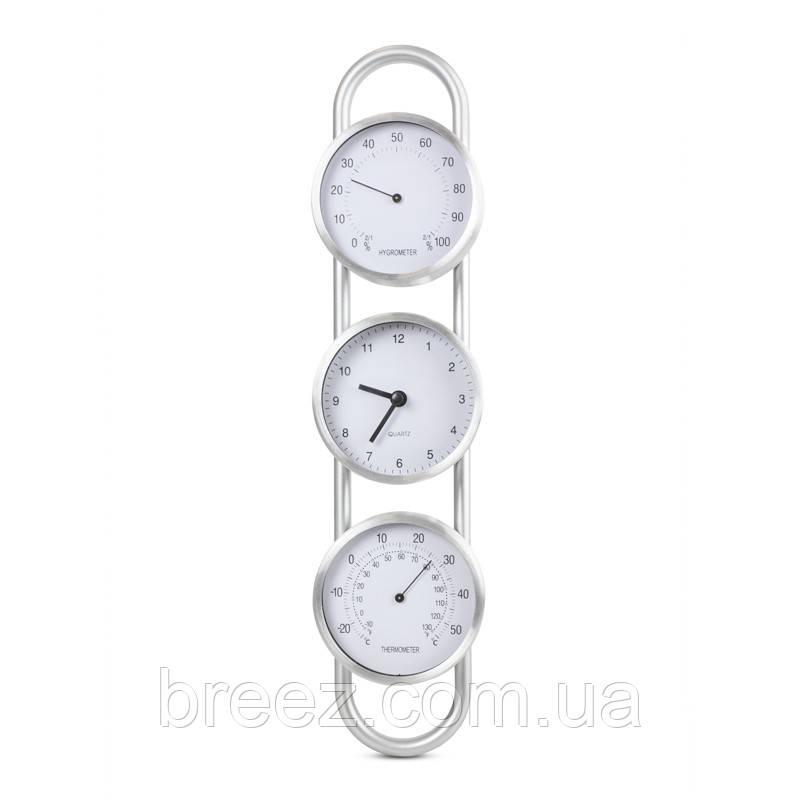Термо-гигрометр с часами исп.2