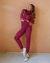Костюм жіночий в'язаний штани і кофта OG шерсть, фото 3