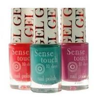 Лак  для ногтей Sense Touch Gel Effect 10 мл