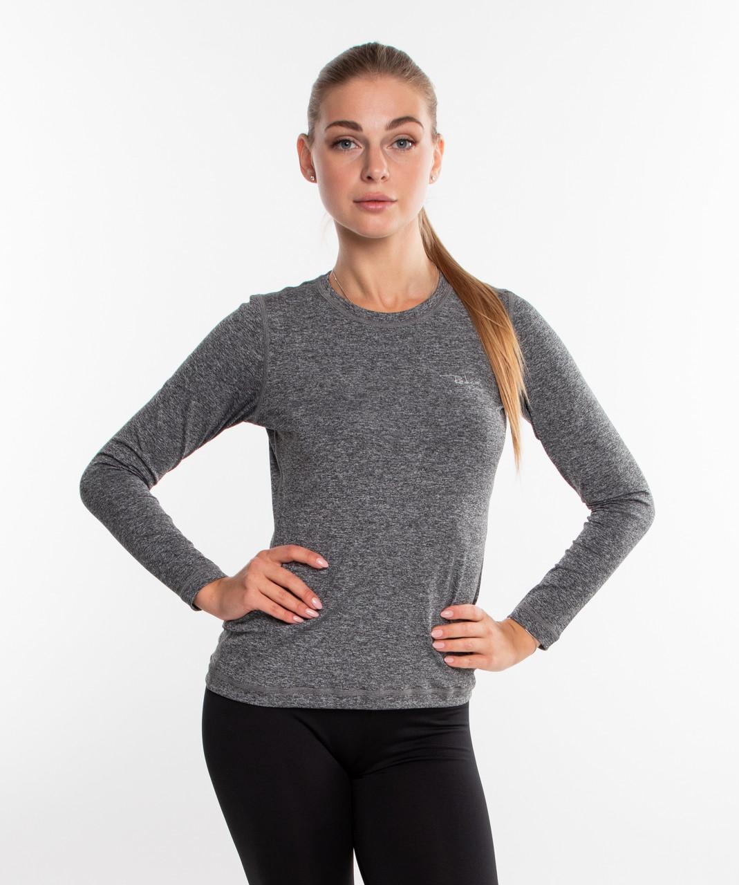 Спортивна жіноча футболка з довгим рукавом Rough Radical Efficient SG, лонгслів, рашгард, компресійна