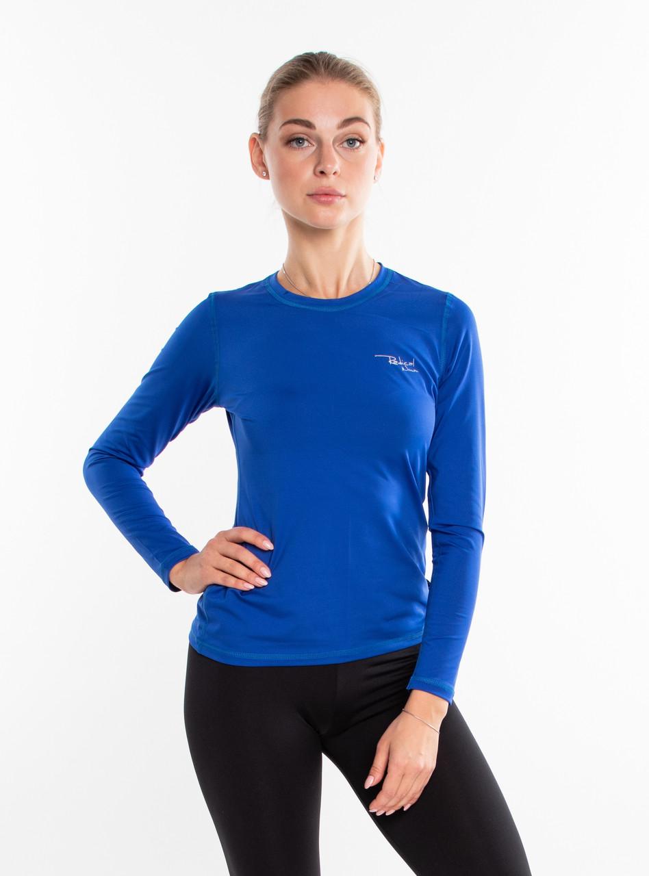 Спортивная женская футболка с длинным рукавом Rough Radical Efficient ,лонгслив,рашгард,компрессионная