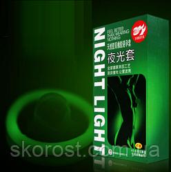 Презервативы. Светящиеся и ультратонкие (7 штук)