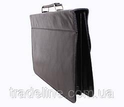 Портфель мужской Dovhani PKK30370999135 Черный, фото 2