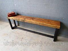 Cкамья LOFT DESIGN 6301, мебель стиль Лофт Производство в Киеве