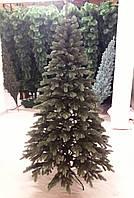 Елка искусственная литая зеленая 1.8 м.