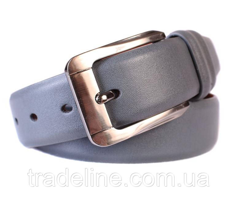 Ремень мужской Dovhani G301130178 110-120 см Серый