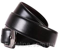 Ремень двухсторонний мужской Dovhani G301137182 110-120 см Черный, фото 2