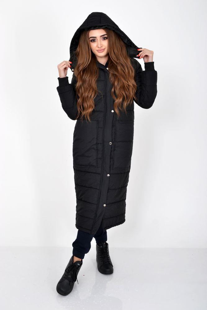 Пальто женское 103R058 цвет Черный