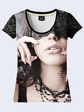 Женская футболка Girl in the Mask
