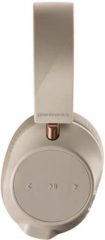 Bluetooth-гарнитура Plantronics BackBeat GO 810 Bone White (211822-99), фото 2
