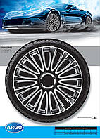 Колпаки колесные Lemans Pro Silver Black R13