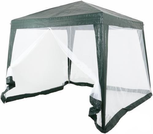 Павильон шатер палатка тент с москитной сеткой и молниями.