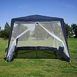 Павильон шатер палатка тент с москитной сеткой и молниями., фото 6