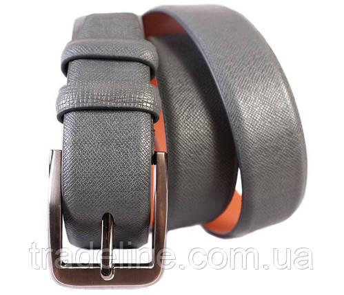 Ремень мужской Dovhani G301153187 110-120 см Серый, фото 2