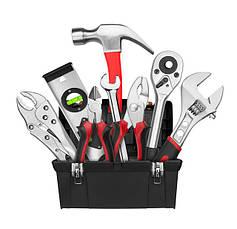 Инструмент, приборы, комплектующие, расходные материалы, полезные вещи