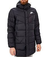 Куртка пуховик мужской черный NIKE M NSW DWN FILL WR PARKA HD RUS
