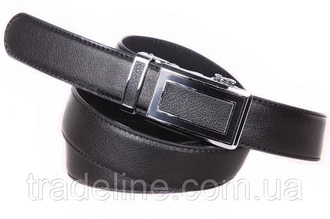 Ремень мужской Dovhani G63355214 110-120 см Черный, фото 2