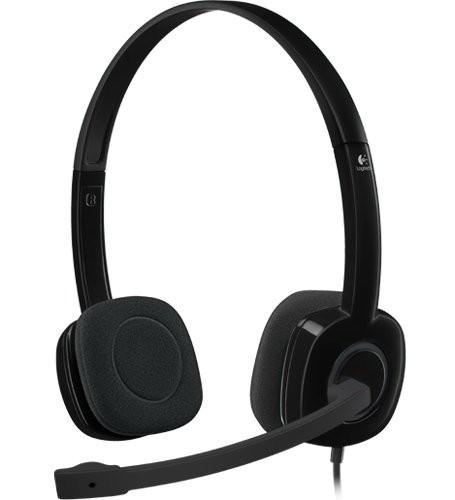 Гарнитура Logitech H151 Stereo Black (981-000589)