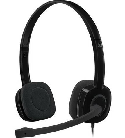 Гарнитура Logitech H151 Stereo Black (981-000589), фото 2