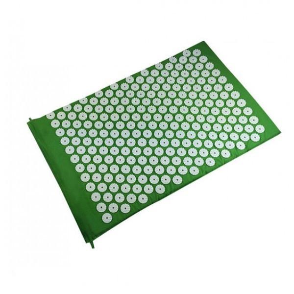 Килимок масажний Аплікатор Кузнєцова Релакс 55х40 см OSPORT (MS-1251) Зелений