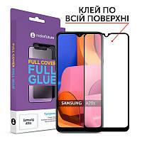 Защитное стекло MakeFuture для Samsung Galaxy A20s SM-A207 Full Cover Full Glue, 0.33 mm (MGF-SA20S)