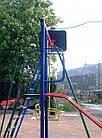 Ігровий комплекс для вулиці з гойдалками і гіркою, фото 5