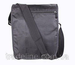 Сумка текстильная мужская Dovhani А4-LOF301913244 Черная, фото 2