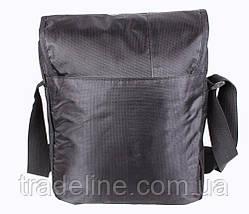 Сумка текстильная мужская Dovhani А4-LOF301913244 Черная, фото 3
