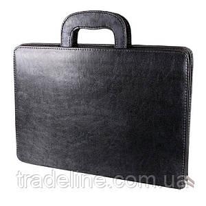 Чоловіча папка для документів А4 Dovhani IT3439257 Чорна