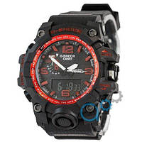Casio G-Shock GWG-1000 Black-Red
