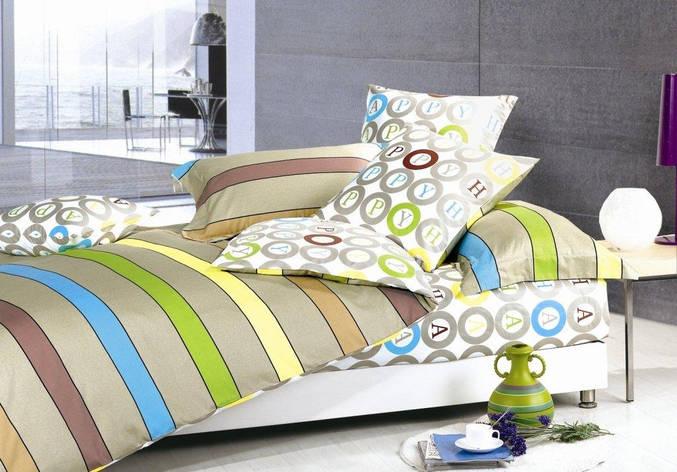 """Дешевый и модный комплект постельного белья """"Хэппи"""" Premium бязь., фото 2"""