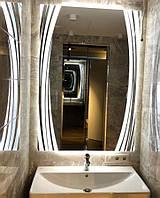 Зеркало в ванную, прихожую, спальню, настенное влагостойкое с LED подсветкой прямоугольное под заказ