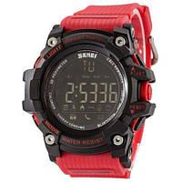 Skmei 1227 Black-Red Wristband