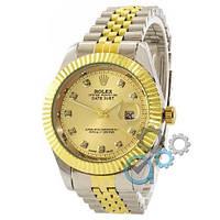 Rolex Date Just Silver-Gold