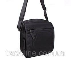 Мужская сумка текстильная Prima MP231-22BL284 Черная, фото 3