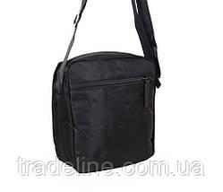 Мужская сумка текстильная Prima MP231-22BL284 Черная, фото 2
