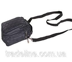 Сумка мужская текстильная Dovhani S301690295 Черная, фото 3