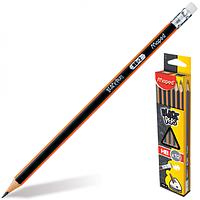 Набір олівців графітових Maped з гумкою 12шт 2мм (MP.851722)