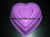 Форма силиконовая Сердце большое, фото 1