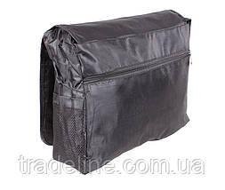 Сумка мужская текстильная Dovhani SPORT303246301 Черная, фото 2