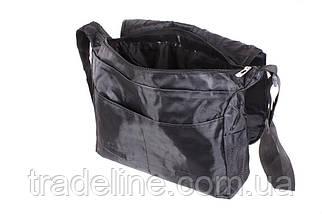 Сумка мужская текстильная Dovhani SPORT303246301 Черная, фото 3