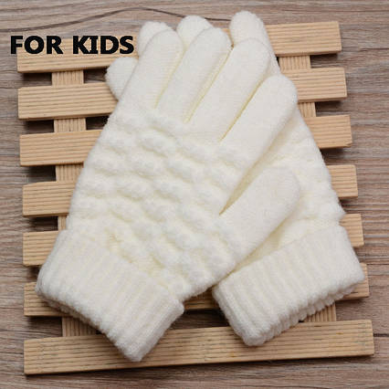 Перчатки Shouhushen детские (белые)