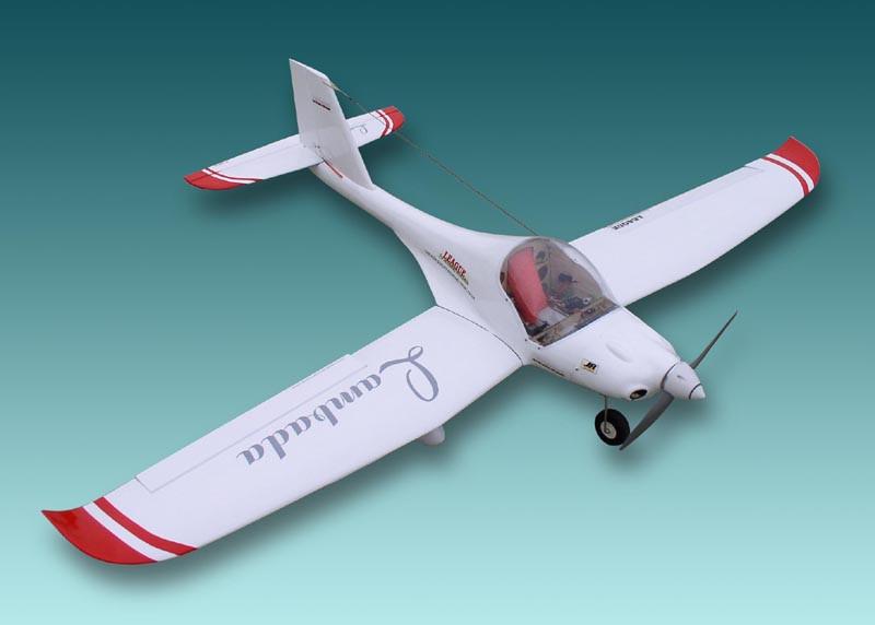 Авиамодель на радиоуправлении самолета Lambada  1810 мм  ARF