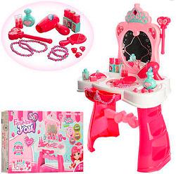 Детский игрушечный туалетный столик.Игровой набор туалетный столик для девочек.
