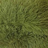 Плед-покрывало травка 220х240 (оливковый)