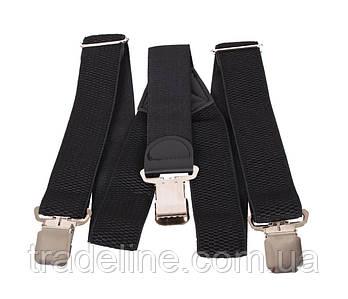 Підтяжки чоловічі Dovhani P001-3BLACK323 Чорні