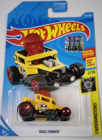 Машинка Hot Wheels 2019 Skull Shaker